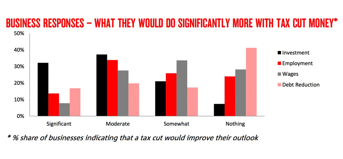 nab tax cut survey