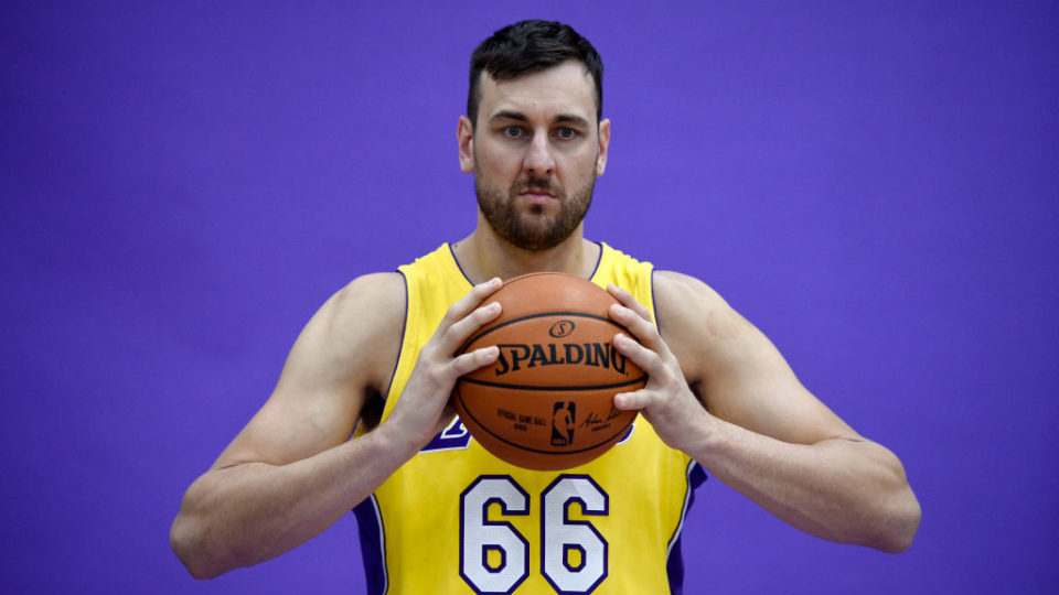 Andrew Bogut returns to Australia to play for the Sydney Kings
