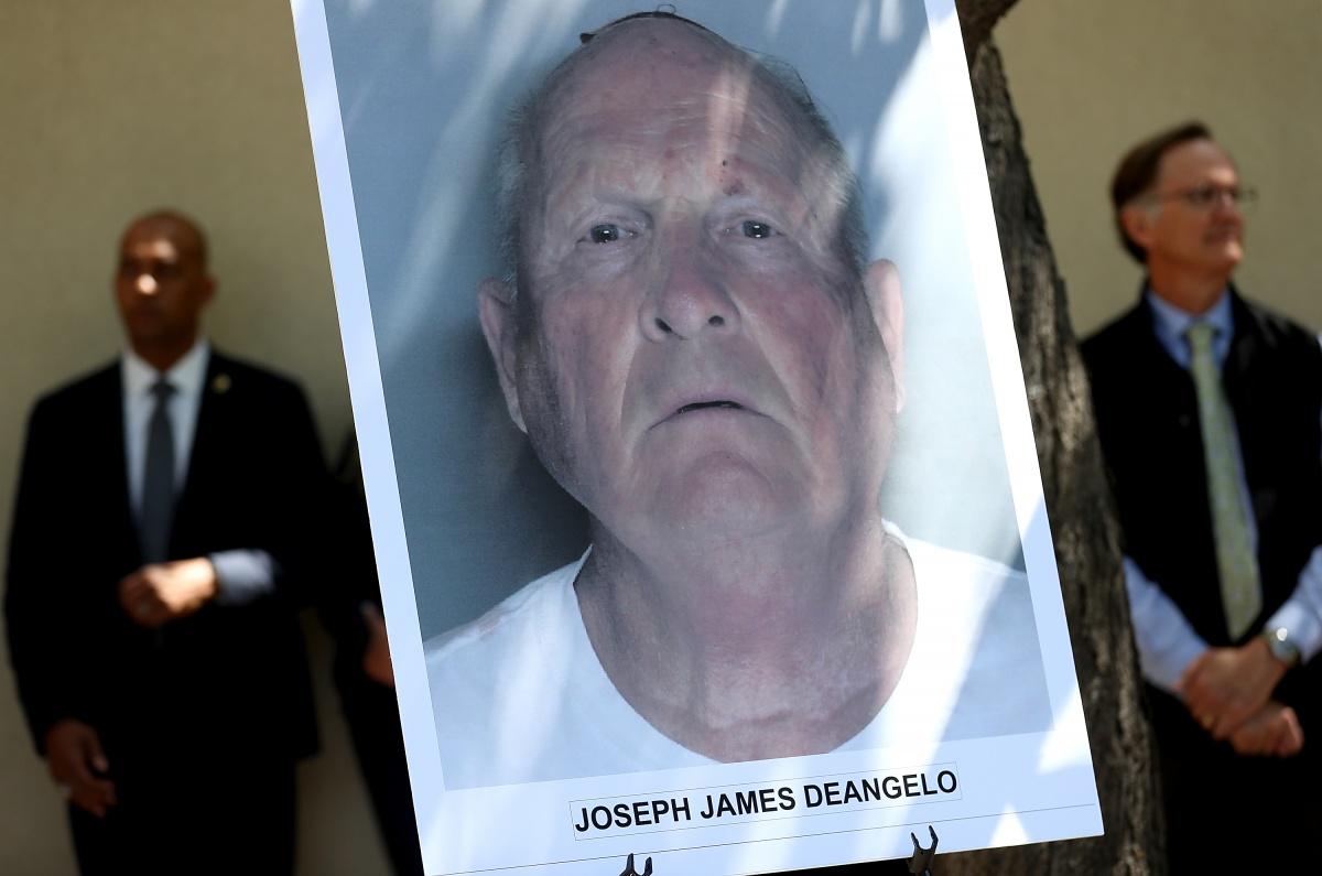 US serial killer Joseph James DeAngelo