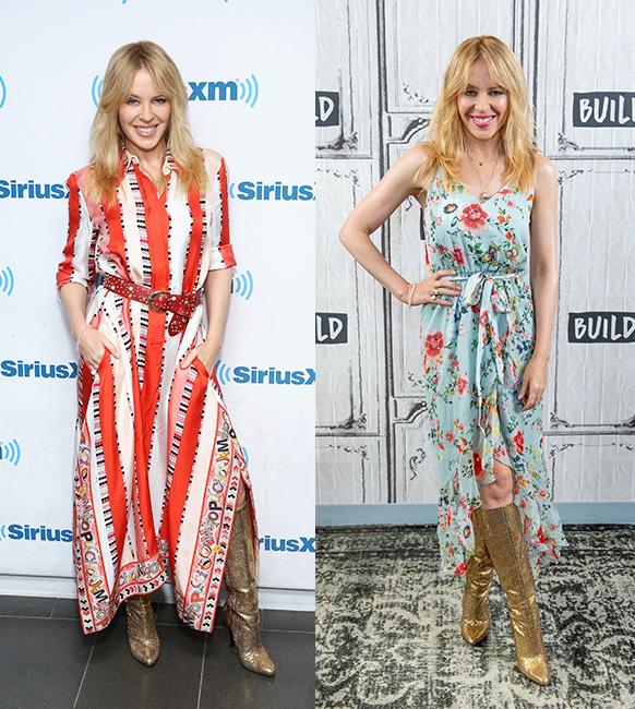 Kylie Minogue New York