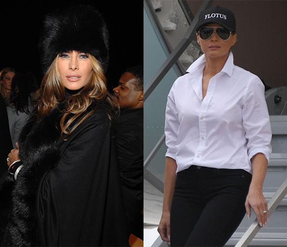 melania trump hat