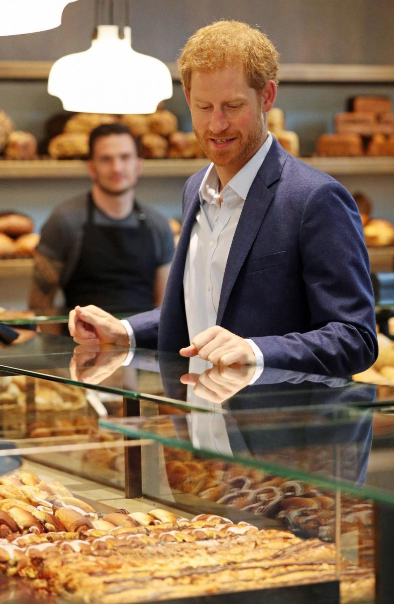 Prince Harry bakery