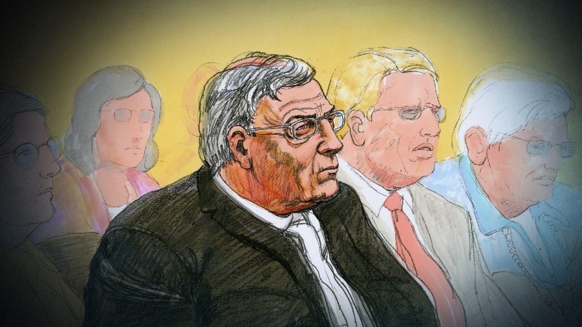Cardinal George Pell in court