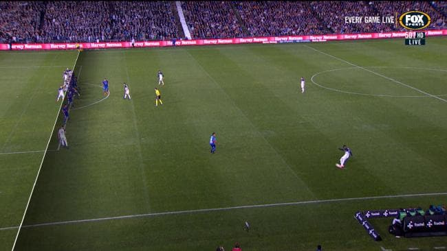 Victory offside