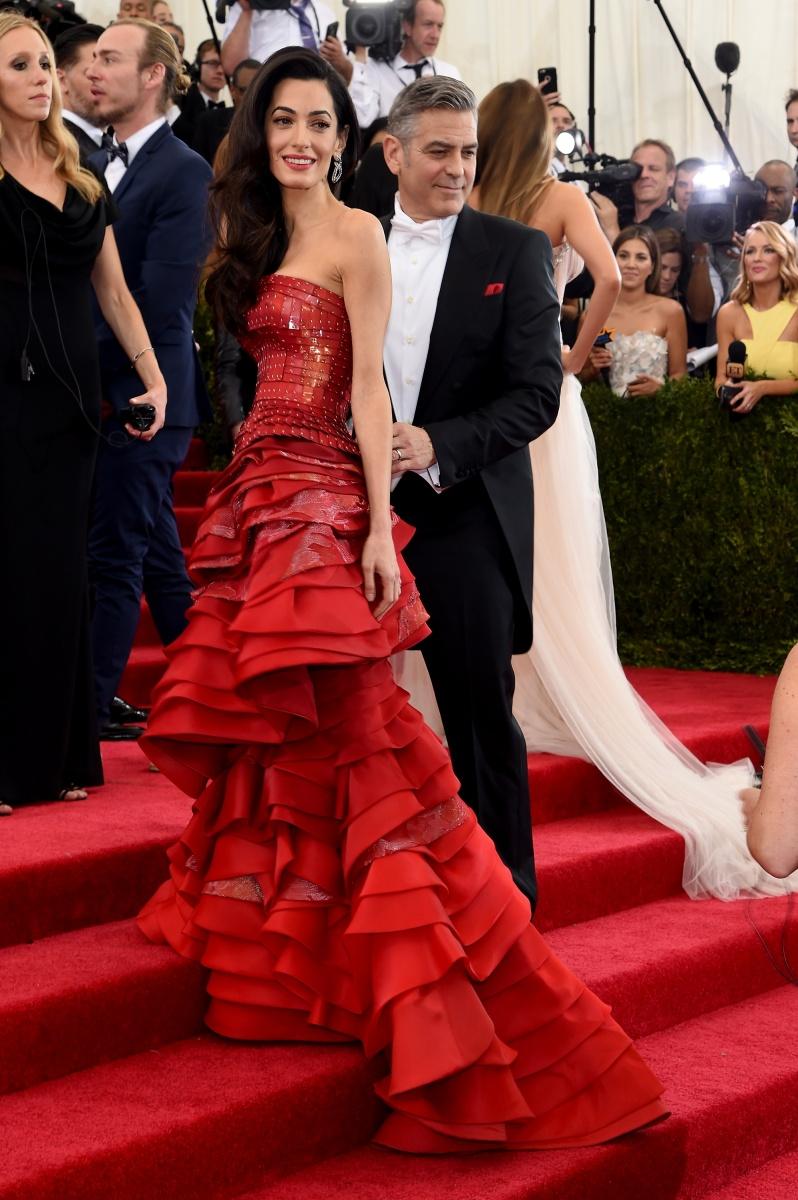 Amal and George Clooney Met Gala 2015