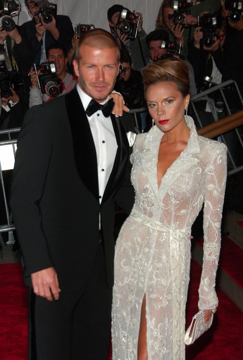 David and VIctoria Beckham Met Gala 2008