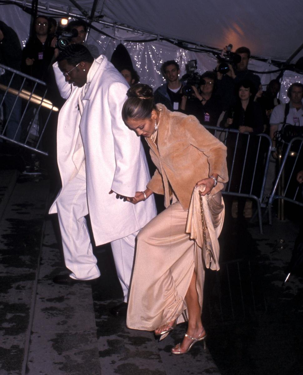 P Diddy Jennifer Lopez Met Gala 1999