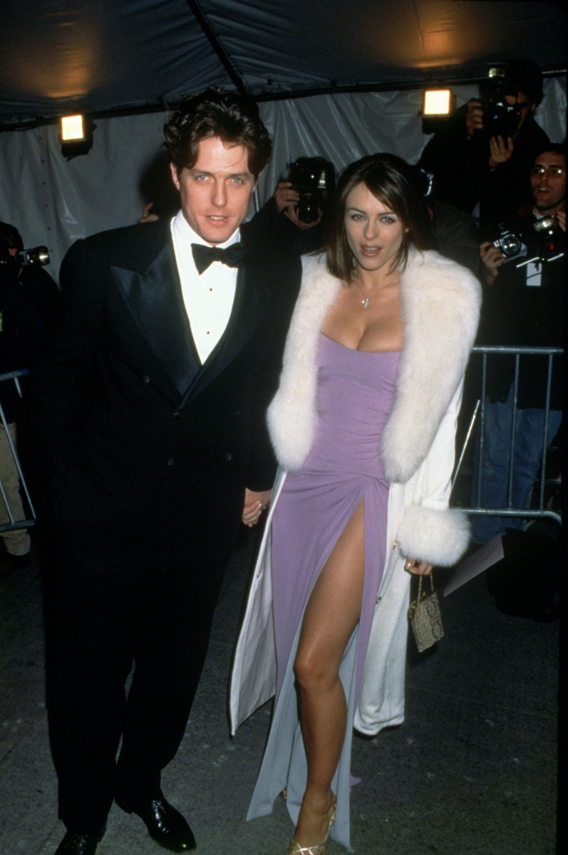 Hugh Grant Liz Hurley Met Gala 1995