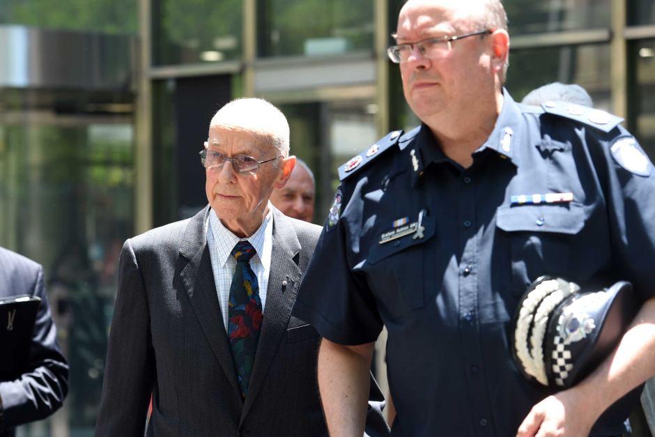 victoria police denis ryan paedophile priest