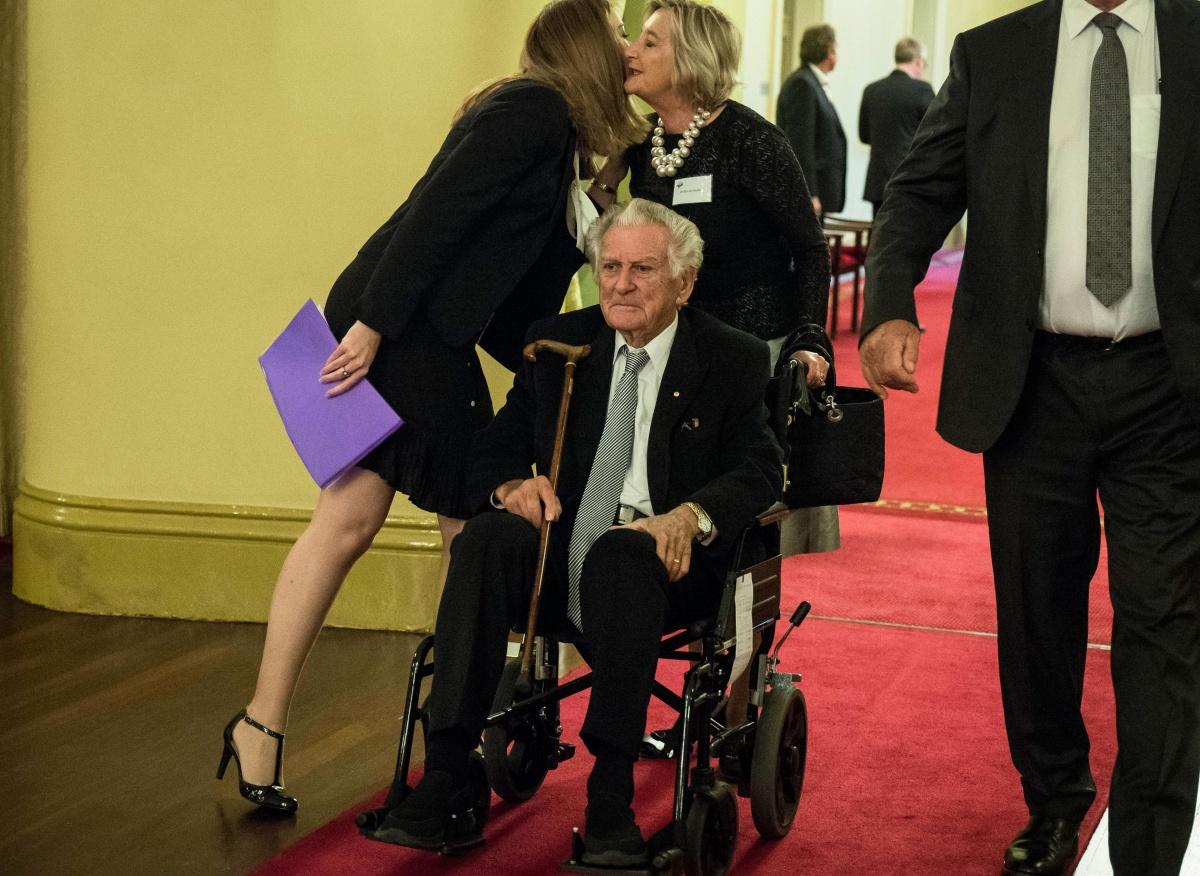Bob Hawke wheelchair