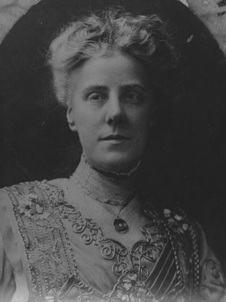 A portrait of the founder of Mother's Day Anna Jarvis in the 1900s.