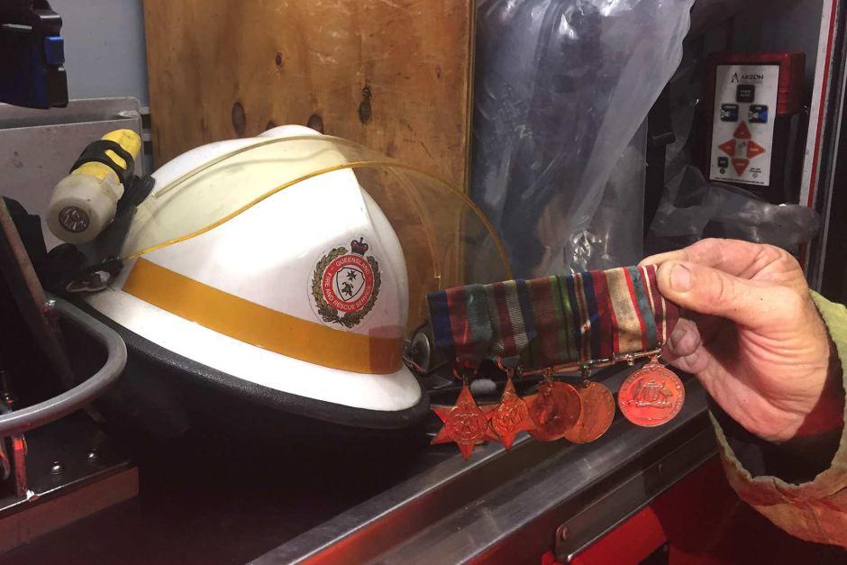 brisbane house fire war hero