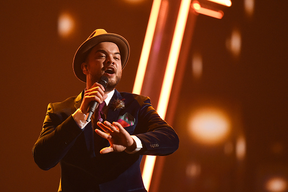 Guy Sebastian was the first Aussie to represent Australia in the Eurovision contest in 2015.