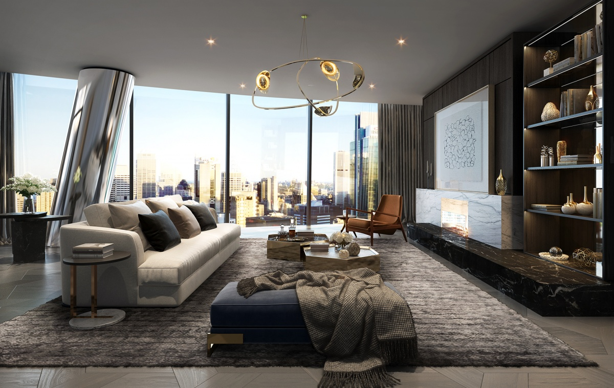 Inside Australia's multi-million dollar luxury apartments