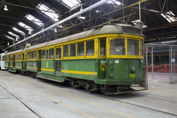 old melbourne trams go up for sale