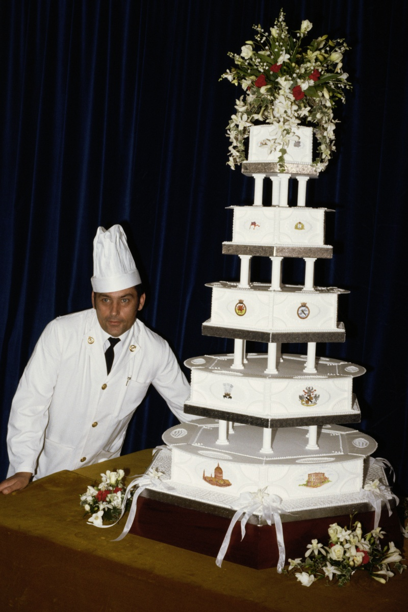 Charles and DIana wedding cake