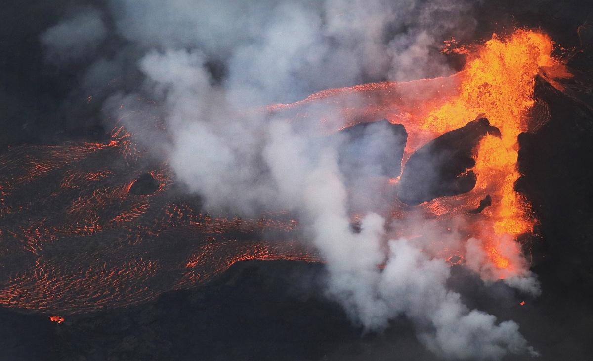 Hawaii Volcano lava
