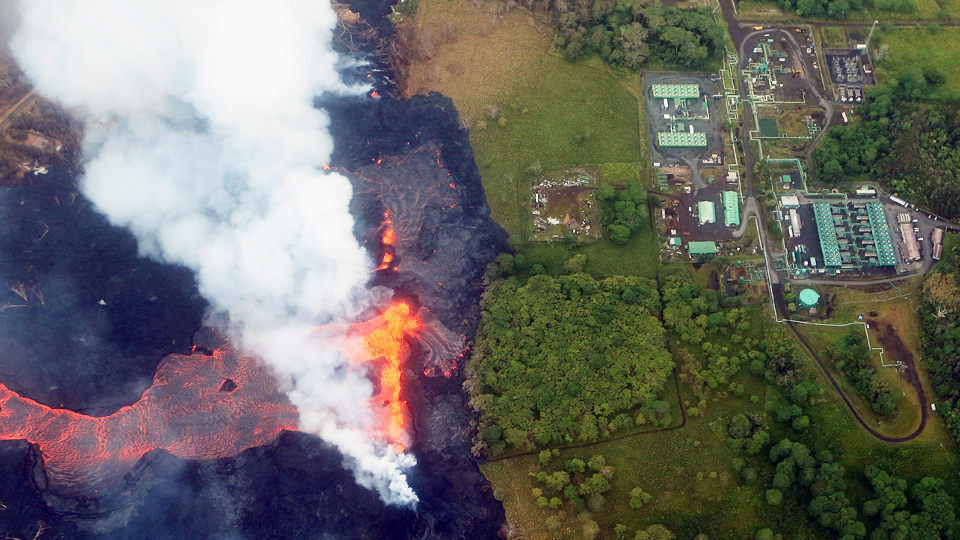 lava flow geothermal