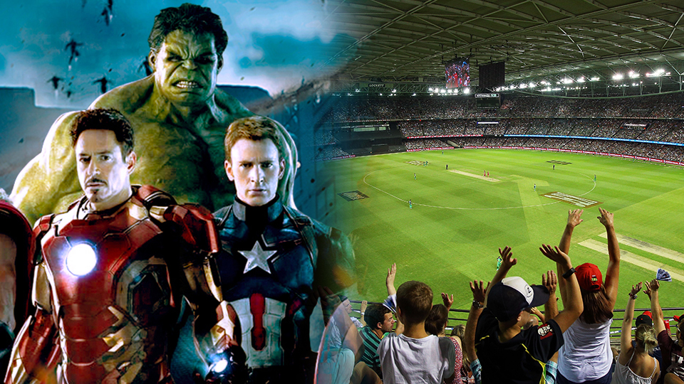 marvel characters and etihad stadium