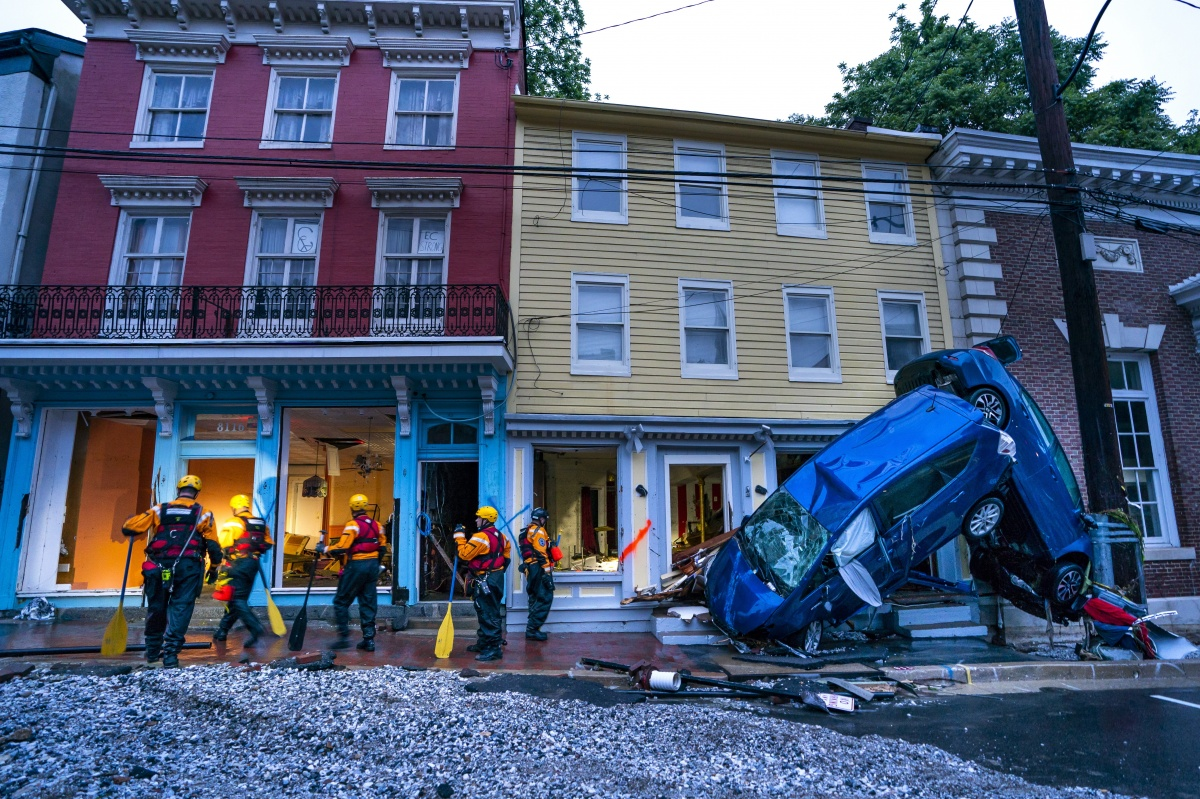 Catastrophic Flooding Hits Ellicott City, Maryland