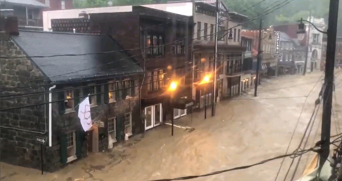 Floods Strike Maryland City For Second Time in 2 Years