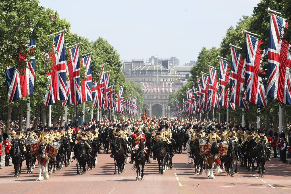trooping of the colour 2018