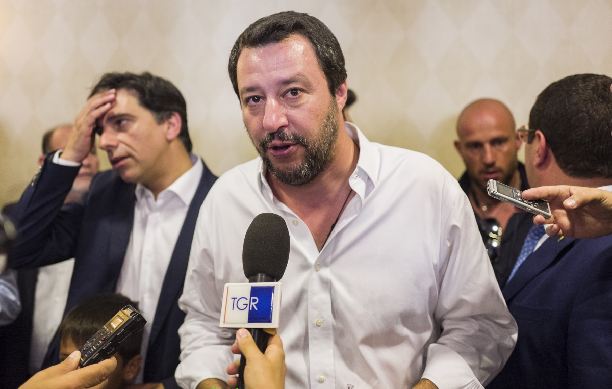 Italy refugee policy Matteo Salvini