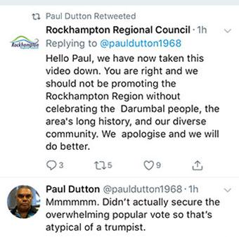 Rockhampton tourism video apology