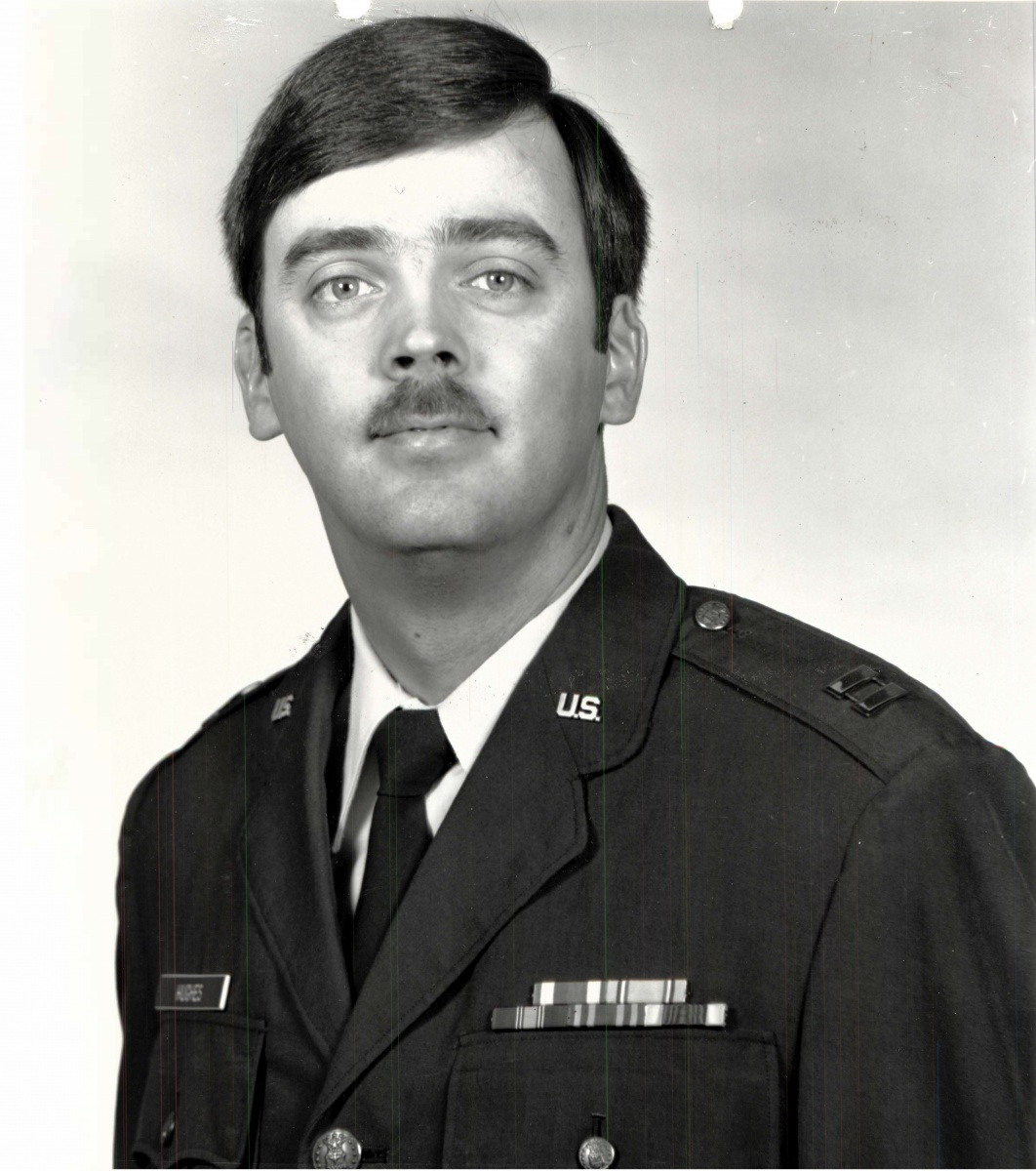 Air Force captain William Howard Hughes