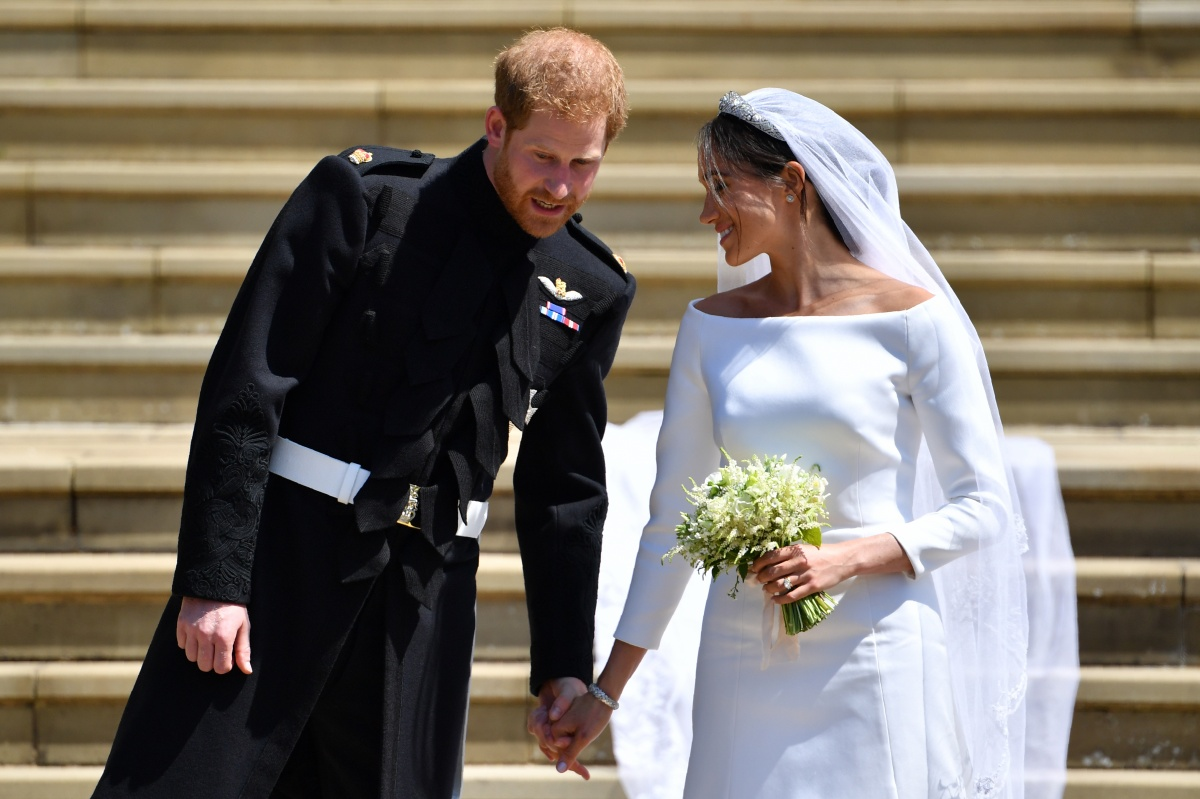 Harry and Meghan married