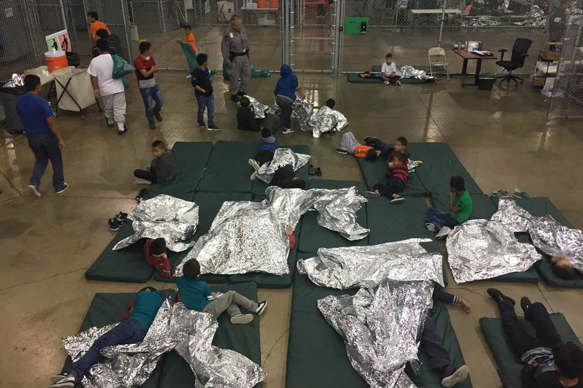 Donald Trump's separated child migrant facility
