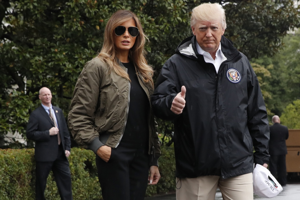 Melania's I don't care jacket controversy