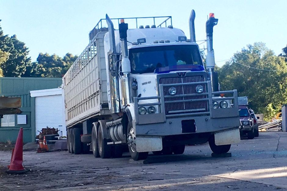 brian king woodford truck