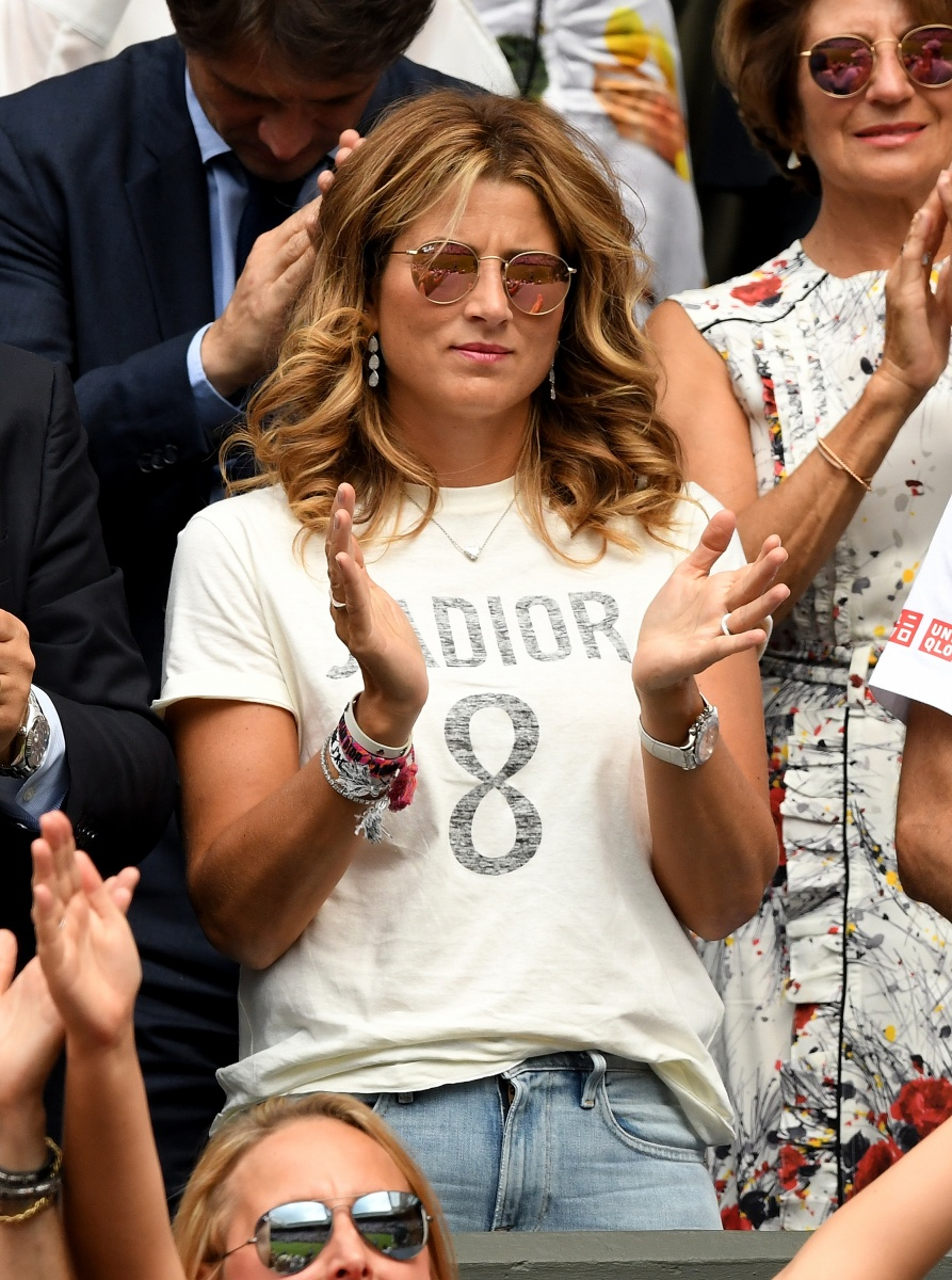 Mirka Federer tough