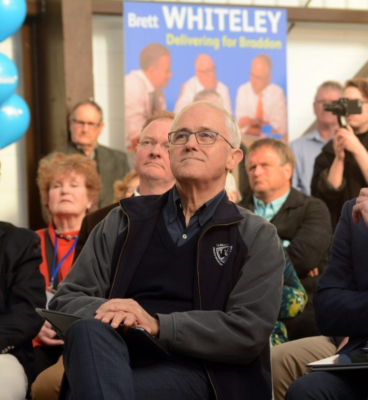 malcolm turnbull braddon byelection super saturday