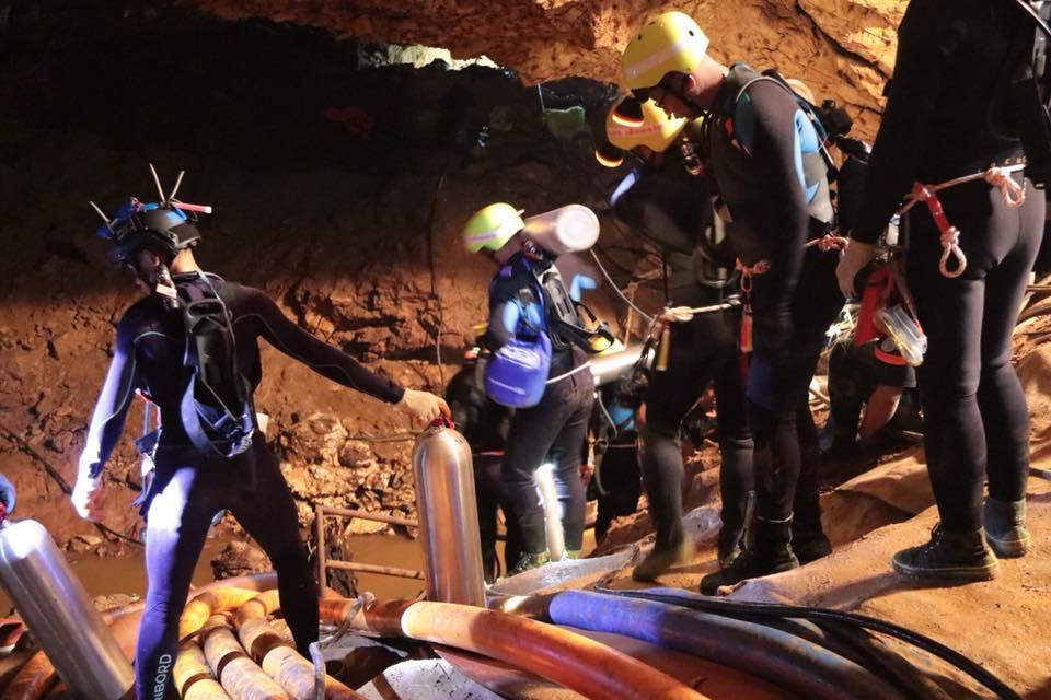 Thai cave rescue divers