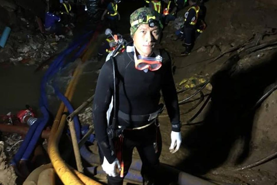 Thai cave fatality saman gunan