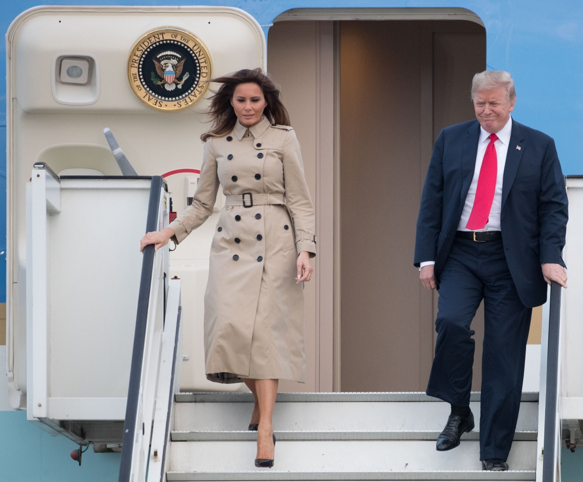 Melania Donald Trump Brussels
