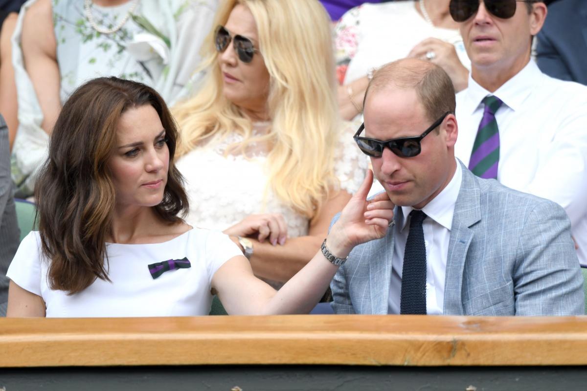 Kate William Wimbledon 2017