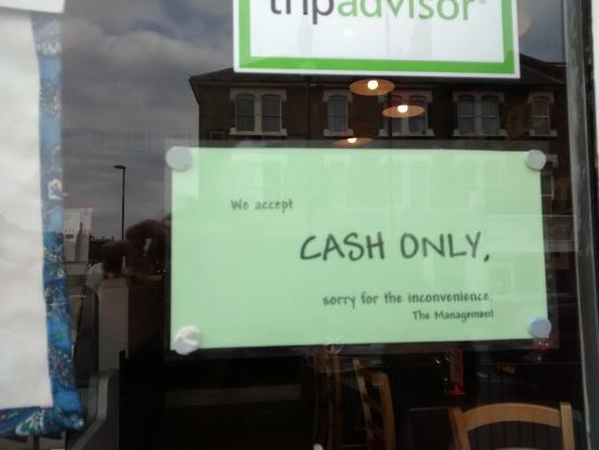 cash-only-sign