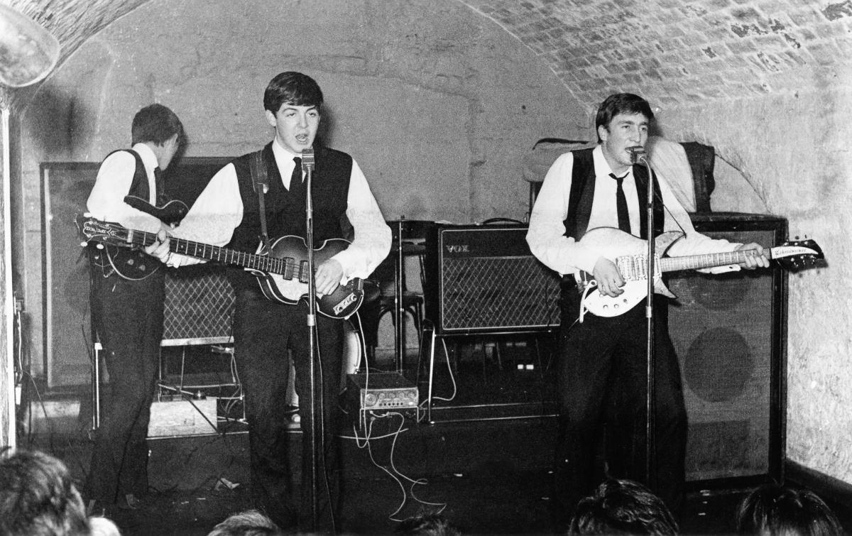 Paul McCartney and the Beatles at the Cavern