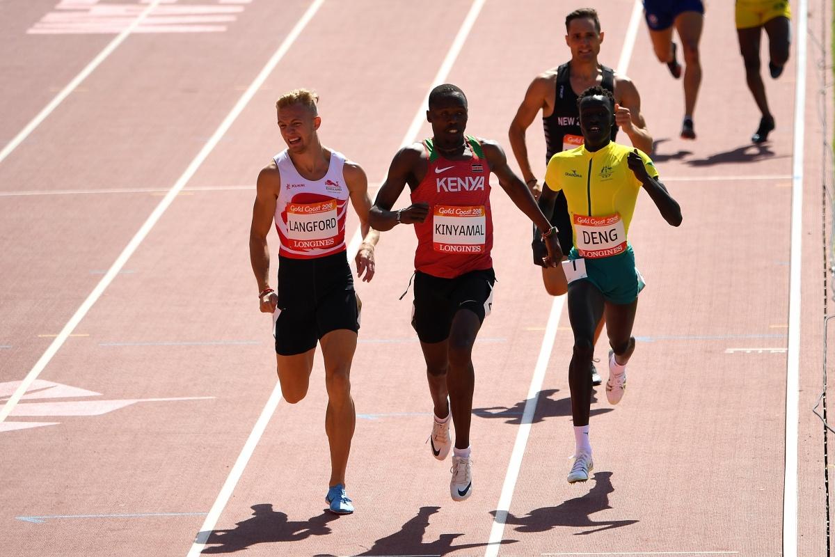 Sudanese athletes
