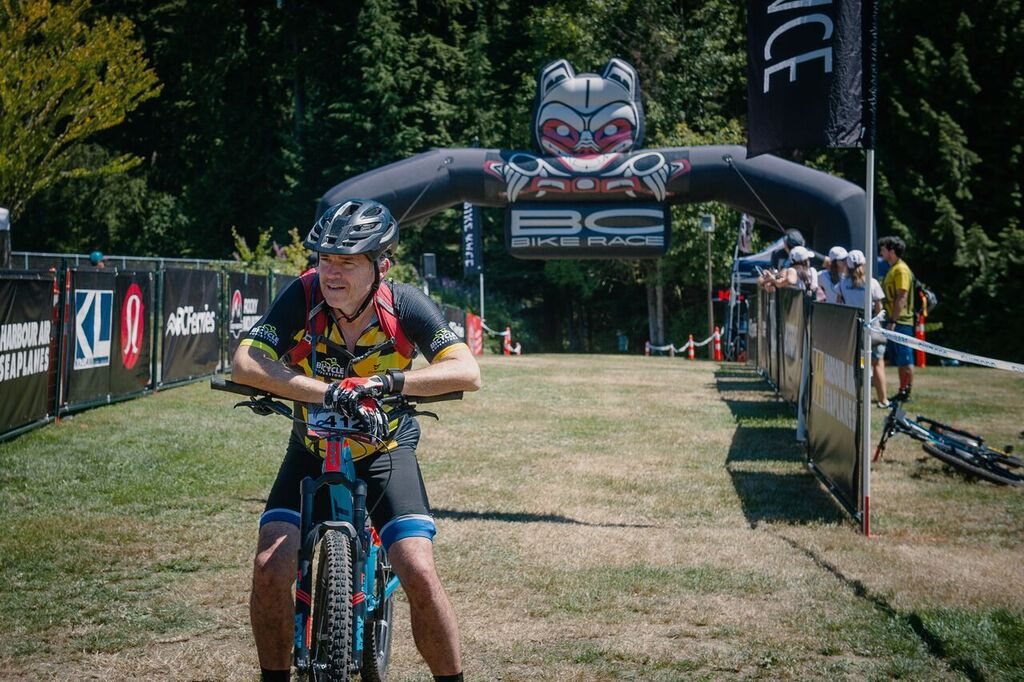 Taking one of the world's premier mountain bike stage races