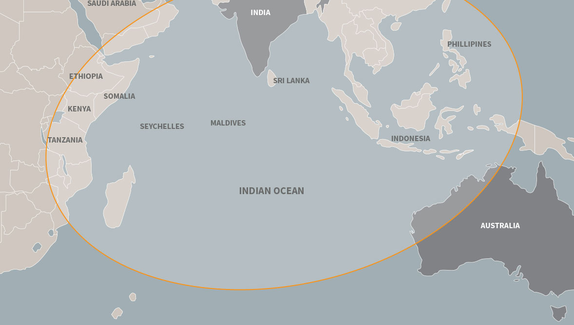 australia, us, japan Indo-pacific