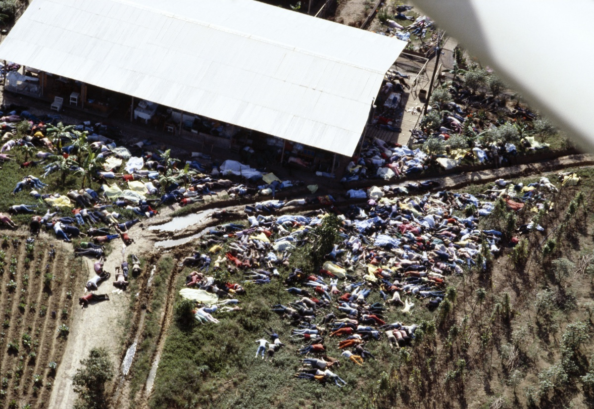 book on Jonestown massacre
