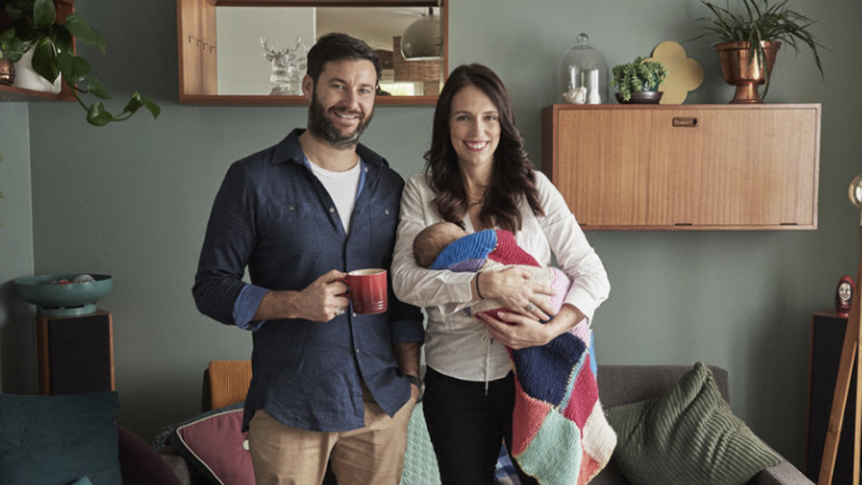 Jacinda Ardern family