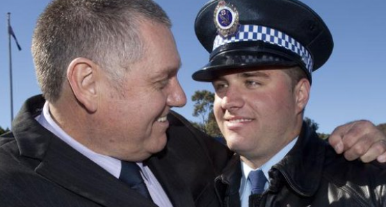 ray hadley's son arrested on drugs possession