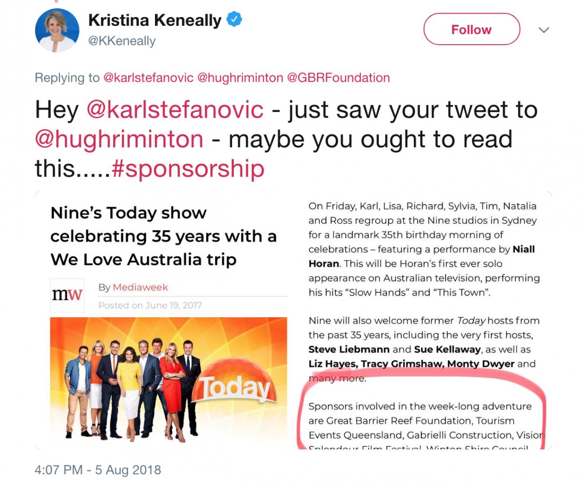 Keneally tweet
