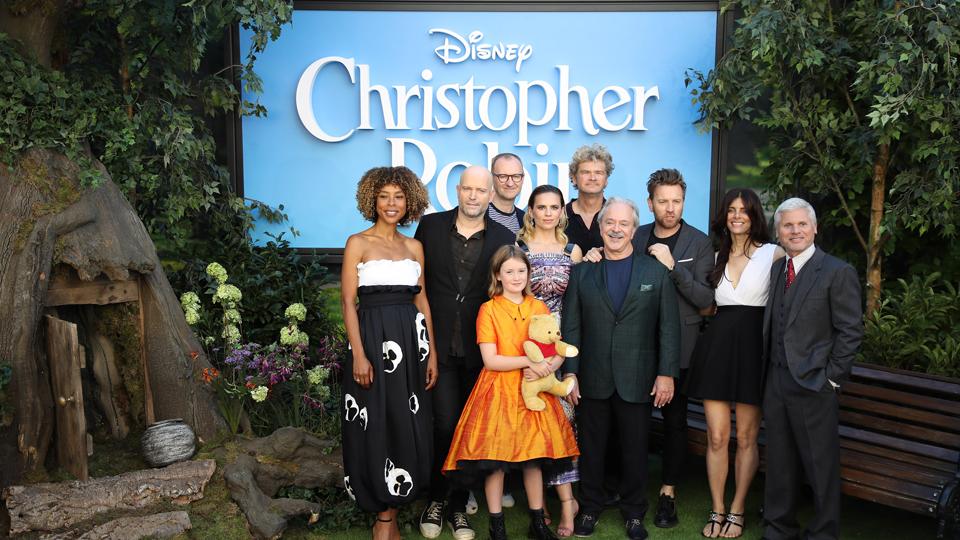 Christopher Robin cast