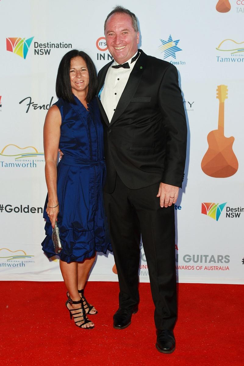 Natalie and Barnaby Joyce